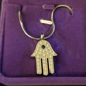 Jewelry - Hand of Fatima Ash Holder Necklace